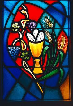 Stained glass in Grace Lutheran Church, Knoxville, TN