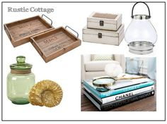 Rustic Cottage Coffee Table Styling