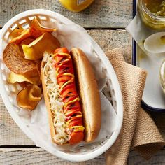Shock everyone with this recipe for veggie dogs that actually taste like hot dogs. They're an amazing (and healthy!) vegan alternative to traditional meat hot dogs. Serve in whole-wheat hot dog buns and top with all your favorite toppings, such as sauerkraut, relish, ketchup and mustard, for the ultimate barbecue meal.