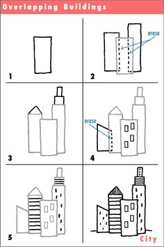 """Wondering if you would grab some paper and pencils and grab the kids (or anyone!) and try this step by step drawing of a city. You can go to the """"Pick and Draw Game"""" Facebook page and post your ar..."""