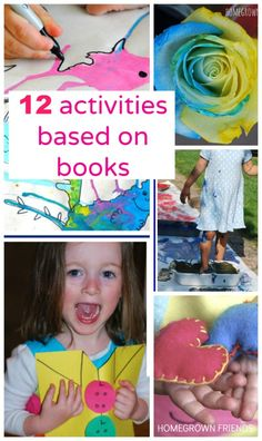 12 Activities Based on Children's Books