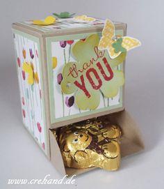 crehand Candy Spenderbox Stampin Up Frühjahr