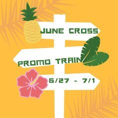 Strategic Promotion for Success: June's Cross Promo Train