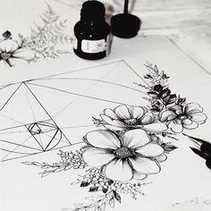 ✒ #goldspiral #flowers #artwork #drawing #artgalaxies #artgalery #instaartwork #artmagazine #art_spotlight #worldartist #sketch_daily