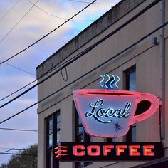 Local Coffee: located just 3 miles north of us on Broadway at the Pearl Brewery. Go check them out.
