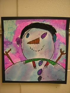 The students read the book, Snowmen At Night. Students had to guess what was unique about this book and they realized . Snowmen At Night, Contemporary Art Artists, Pop Art Tattoos, 3 Piece Canvas Art, Fantasy Art Men, Animal Art Projects, Doodle Art Journals, Earth Tone Colors, Art Deco Pattern