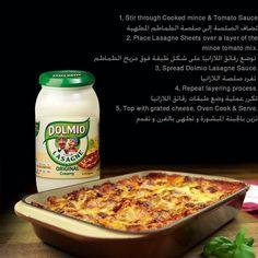 دولميو صلصة لازانيا متوفره في #سيفكو  Dolmio Lasagne Original Creamy  Sauce Available in #Saveco
