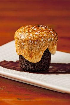 Hot Chocolate Marshmallow Cakes