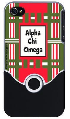 Alpha Chi Omega iPhone Cover