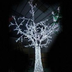LED Christmas Tree Lights with 600cm Length and 450cm Diameter