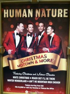 HUMAN NATURE...CHRISTMAS MOTOWN & MORE @ VENETIAN