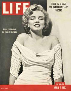 Life Magazine Copyright 1952-04 Marilyn Monroe Talk - www.MadMenArt.com…