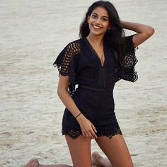 Cute smile of Banita Sandhu in Black Outfit Banita Sandhu Photographs BANITA SANDHU PHOTOGRAPHS : PHOTO / CONTENTS  FROM  IN.PINTEREST.COM #BLOG #EDUCRATSWEB