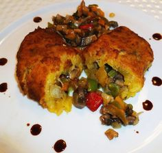 Sweet Plantain Empanadas Stuffed with Mushrooms | Hispanic Kitchen