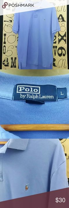 Polo by Ralph Lauren Polo shirt Gently used Polo by Ralph Lauren Polo shirt size large Polo by Ralph Lauren Shirts Polos
