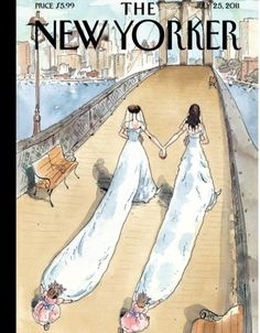 New Yorker Celebrates Gay Marriage