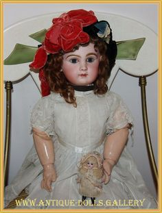 Depose Tete Jumeau B.te S.G.D.G 12   Антикварные Куклы