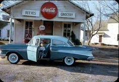 57 Chevy & Coke sign