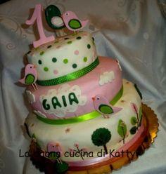 La buona cucina di Katty: Torta per una sarta speciale . cake for ...