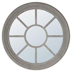 Rusty Grey Mirror