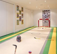 Basement Design, Pictures, Remodel, Decor and Ideas - page 6 - great for kids playroom. dont have to worry about them breaking stuff! Kids Basement, Game Room Basement, Basement Walls, Cool Basement Ideas, Basement Flat, Basement Carpet, Basement House, Walkout Basement, Basement Flooring