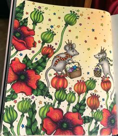 #Sommarnatt #HannaKarlzon #Prismacolor #Coloringaddict #pencils