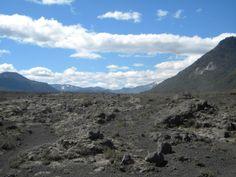 Paisaje Lunar en Conguillío, IX Región, Chile