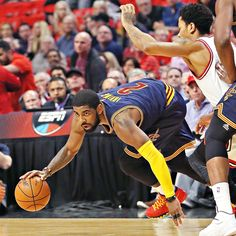 Hurting and hobbled, Kyrie Irving pushes on