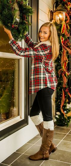 When it comes to fall and winter, a great plaid top is an essential for your wardrobe! These tops can be dressed up or down, and they can transition from day to night easily! Whether you're aiming for cozy chic or office ready, a plaid button down can take you wherever you want to go! How would you style this top?