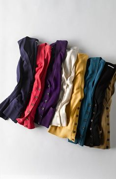 Such pretty colored cardigans!   http://rstyle.me/n/dm7wenyg6