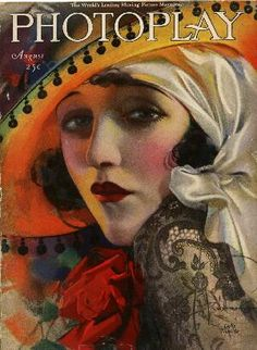 Bebe Daniels, Photoplay cover - Rolf Armstrong