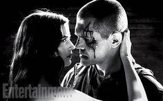 Ava Lord (Eva Green) and Dwight McCarthy (Josh Brolin) - Sin City: A Dame to Kill For