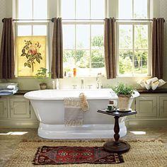 Luxurious Master Bathrooms | Spa-Like Master Bath | SouthernLiving.com