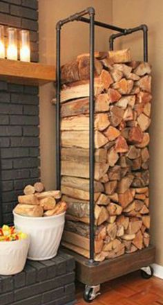 Wood stacker