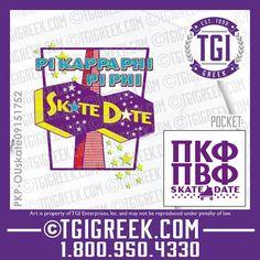 TGI Greek - Pi Beta Phi - Pi Kappa Phi - Date Party - Skate Party - Comfort…