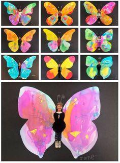 Kindergarten Art Projects, School Art Projects, Projects For Kids, Project Ideas, Grade 1 Art, Grade 2, Second Grade, Primary School Art, Elementary Art