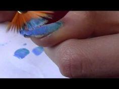 easy fading - gradient nails / nail art tutorial unghie sfumate semplice