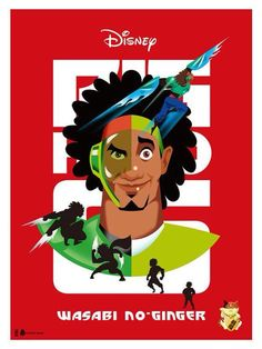 Big Hero Art : Wasabi no-ginger on Behance Hiro Big Hero 6, Big Hero 6 Baymax, Wasabi Big Hero 6, Disney Art, Disney Pixar, Gogo Tomago, Tadashi Hamada, Magic Bands, Big Bird