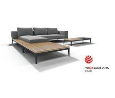 GRID CHILL CHAISE UNIT - Designer Sitzinseln / -Liegeinseln von Gloster Furniture GmbH ✓ Alle Infos ✓ Hochauflösende Bilder ✓ CADs ✓ Kataloge ✓..