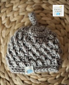 Purl Lamb: Puffy Preemie Hat Pattern PERSONAL USE ONLY