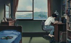 From ocean waves Totoro, Art Anime, Anime Manga, Studio Ghibli Films, Wave Studio, Anime Body, Anime Scenery, Hayao Miyazaki, Ocean Waves