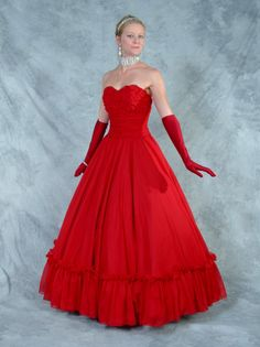 Fabulous Fifties Frocks Collection Prom Gown