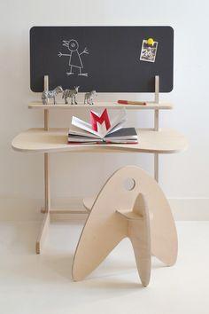 Laurence et Stéphanie, deux passionnées de design sorties de l'Ecole Nationale Supérieur de Création Industrielle à Paris, présentent makémaké, un studio de design français proposant du mobilier éco-conçu principalement dédié aux enfants. #design  #enfant
