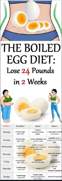 The Boiled Egg Diet: Lose 24 Pounds in 2 Weeks – Sk/Ms