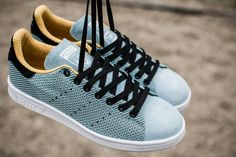 adidas Originals Stan Smith Primeknit: BluBlu