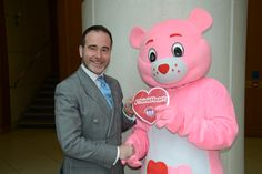 Christopher Pincher MP with Heartly!