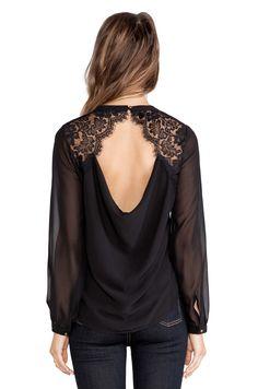 heartLoom Shea Top in Black | REVOLVE