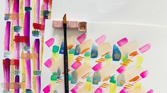 Watercolor Brushes, Easy Watercolor, Watercolor Paper, Watercolor Paintings, Artist Painting, Diy Arts And Crafts, Learn To Paint, Painting Patterns, Your Paintings