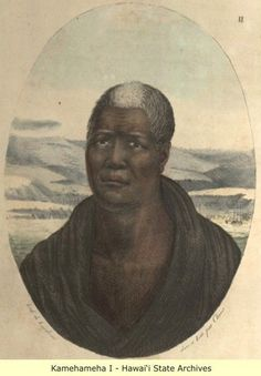 Hidden Face Of Hawaii—-Kamehameha I – Kamehameha the Great, conquered the Hawa… - History American Indian Art, American History, Famous Black People, Black Indians, Hawaiian Art, Hidden Face, Black History Facts, Mystery Of History, Gratin