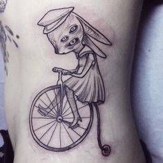 bike on ribs by Nomi Chi